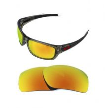 NEW POLARIZED REPLACEMENT FIRE RED LENS FOR OAKLEY TURBINE SUNGLASSES